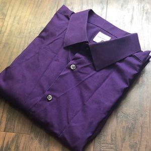 J. Ferrar Super Slim Fit Dress Shirt XL